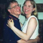 Ruth and Neville dancing