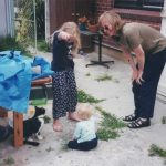 Ruth and kids