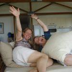 Ruth & Lois, Xmas 2007