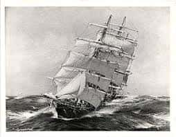09. British Clipper Ship Thermopylae