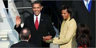 20. Barack Obama Is Sworn In As The 44th President Of The United States