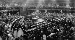 21. Dáil Éireann Meets For The First Time In The Mansion House, Dublin