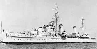 18. Light Cruiser Hms Penelope Is Torpedoed And Sunk By U 410