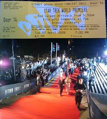 06. The World Premiere Of Star Trek Is Held At The Sydney Opera House