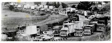 11. 1979 Truck Drivers Blockade