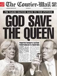 25. Prime Minister Tony Abbott Announces That The Titles Of Knights And Dames Will Be Reintroduced