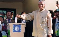 27. South Africa Holds Its First Fully Multiracial Elections