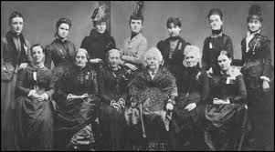 15. National Woman Suffrage Association
