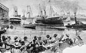 21. Manchester Ship Canal And Docks Are Opened By Queen Victoria