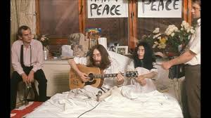 26. John Lennon Yoko Ono Conduct Their Second Bed In