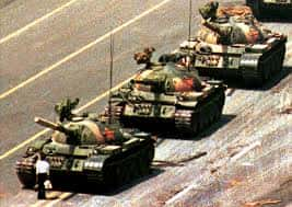 05. Tank Man Stands On Chang An Avenue In Beijing