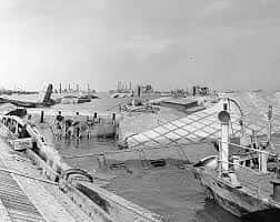 19. Severe Storm Badly Damages The Mulberry Harbours