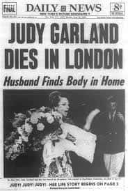 22. Judy Garland Dies Of A Drug Overdose
