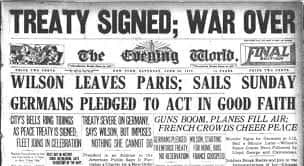 28. Treaty Of Versailles Is Signed