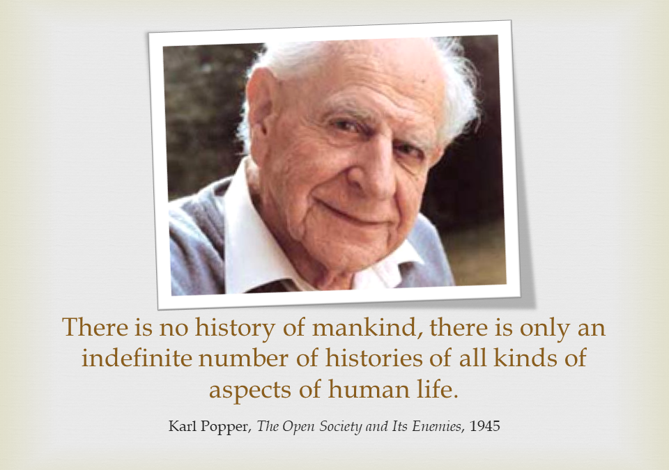 Popper on History and Histories