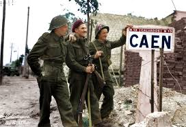 09. British And Canadian Forces Capture Caen