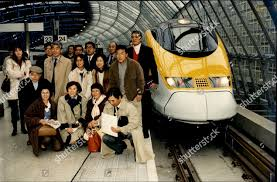 13. First Passengers Travel Through The Channel Tunnel