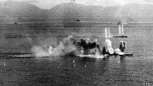 24. The Japanese Battleship Musashi Is Sunk